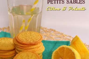 Sablés Citron-Polenta