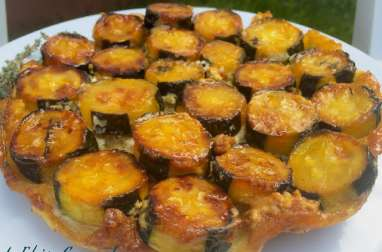 Tatin de Courgettes - Fromage et Fine Herbes Miel
