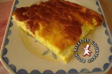 Omelette sucrée au four