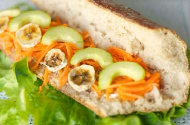 Sandwich végétarien