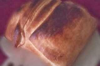 Rôti de porc fumé, kassler, en croûte
