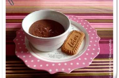 Crèmes au chocolat noir d'après Christophe Felder
