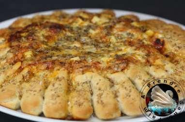 Pizza soleil aux 4 fromages