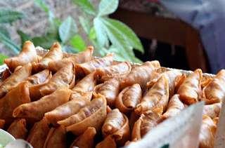 Samsa aux amandes, pistaches, noisettes et noix