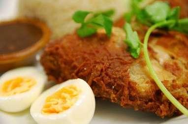 Pilons de poulet panés, croustillants (Etats Unis)