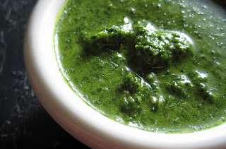 Harissa verte, sans gluten, vegan, sans additif (cuisine orientale)