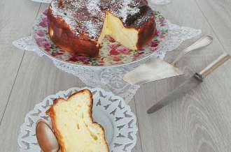 Gâteau au fromage blanc au citron