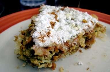Pastilla à l'agneau ou au mouton (Algérie, Maroc..)