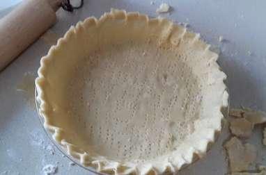 Pâte à tarte sablée, sucrée pour tartes, tartelettes, tourtes
