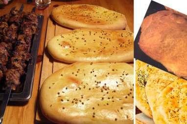 Galettes turque ekmek - pide ramazan (Turquie)