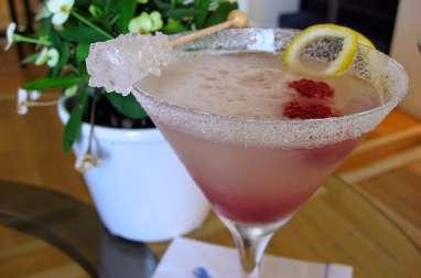 Cocktail aux framboises et gingembre - spécial independence day (Etats-Unis)