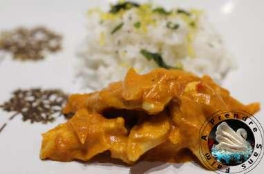 Blancs de poulet au curry