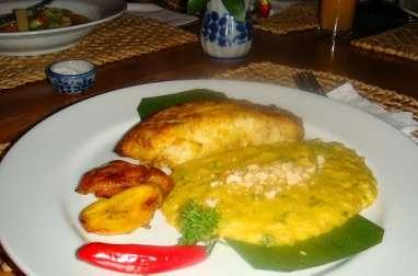 Vatapa de crevettes (Bahia, Brésil)