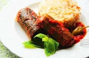 Courgette farcie à la viande hachée