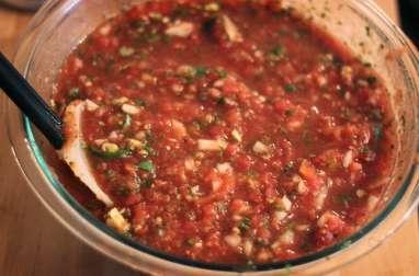 Sauce créole pour barbecue et plancha - salsa criolla