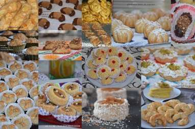 Gâteaux secs algériens pour l'aid 2015