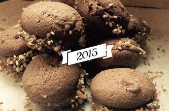 Palets au chocolat à la pâte de noisette et pralin