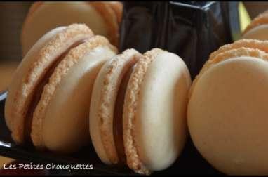 Macarons caramel beurre salé d'après Christophe Felder