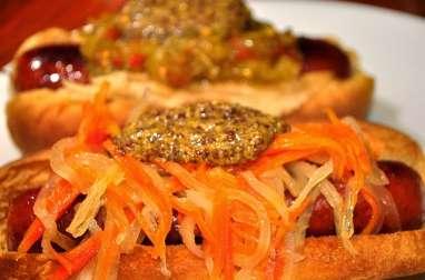 Pickles vietnamiens, carottes et radis blanc, navet long (Vietnam)