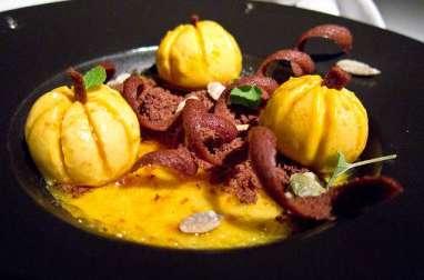 Mousse à la citrouille, au miel et aux épices Rosh Hashana (cuisine juive)