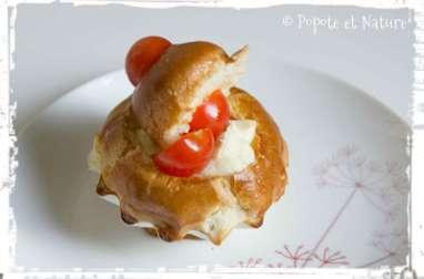 Briochettes façon tomate mozzarella