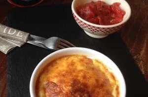 Dariole au Petit Livarot et Concassé de Tomates