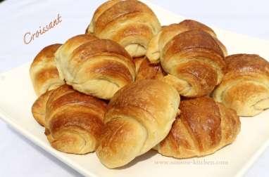 Croissants-facon boulangerie et pate feuilletee