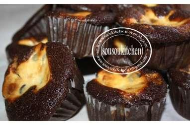 Cupcakes au chocolat et crème de fromage