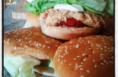 Sandwich express au thon sauce mangue curry