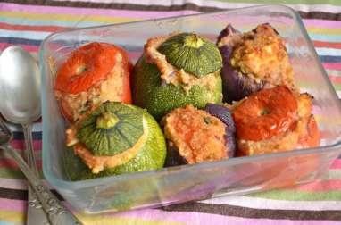 Petits farcis au quinoa