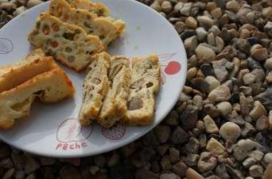 Cakes salés petits pois carottes maïs, thon et fromage
