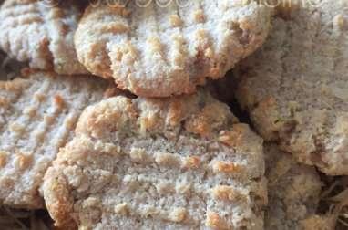 Les biscuits au coco et au manioc