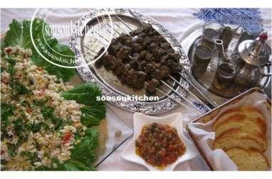 Brochettes à la marocaine