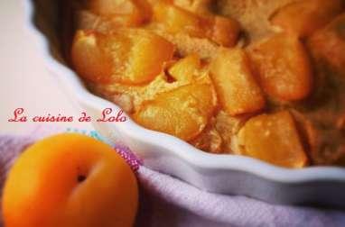 Clafoutis léger aux prunes