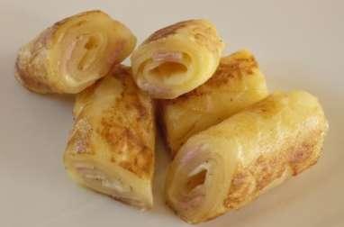 Rolls de pommes de terre en écailles