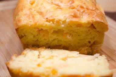 Cake aux crevettes, au citron et au romarin