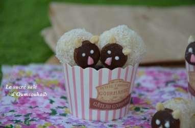 Cake pops mouton