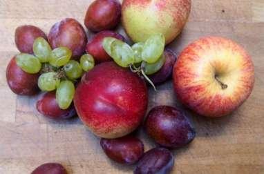 Crumble aux fruits d'automne