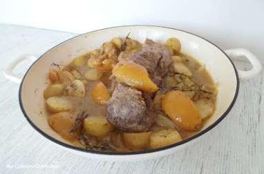 Filet mignon de porc aux citrons confits et ras el hanout
