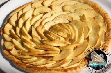 Tarte aux pommes d'après Philippe Conticini