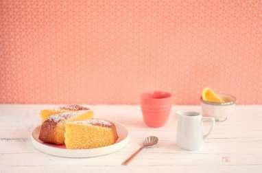 Gâteau de Semoule au bon Goût d'Orange