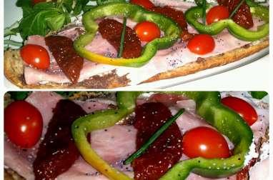 Tartines à l'Italienne