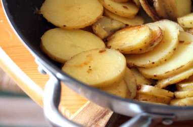 Pommes de terre au Wok