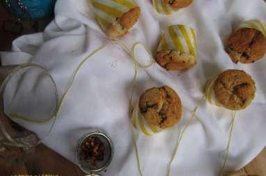 Muffins exotiques, vegan