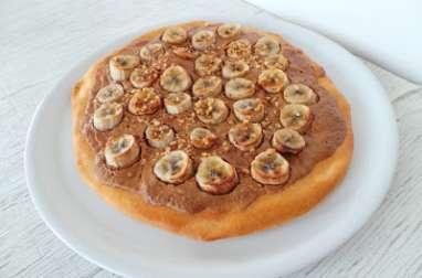 Tarte bananes - pâte de speculoos en 3 ingrédients ou presque