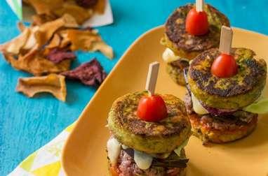 Mini burgers de légumes