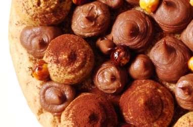 Gâteau chocolat café tonka