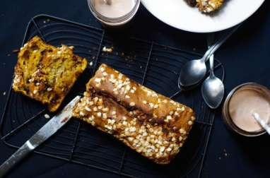 Cake potiron et pépites de chocolat