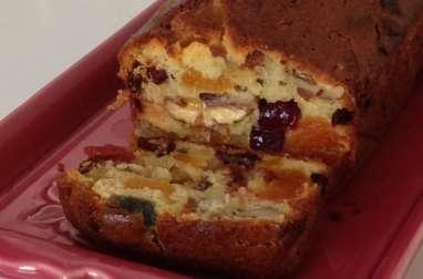 Le cake aux fruits confits de Marick