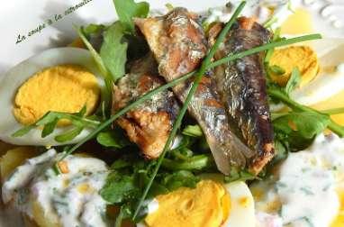 Salade de pommes de terre aux sardines millésimées